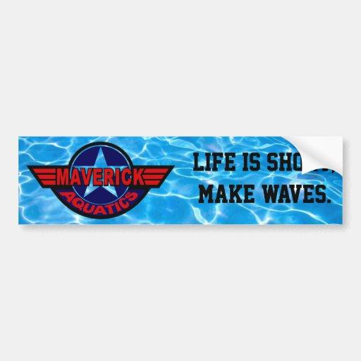Maverick Aquatics Bumper Sticker