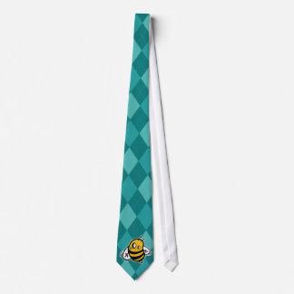 Maverick argyle neck tie