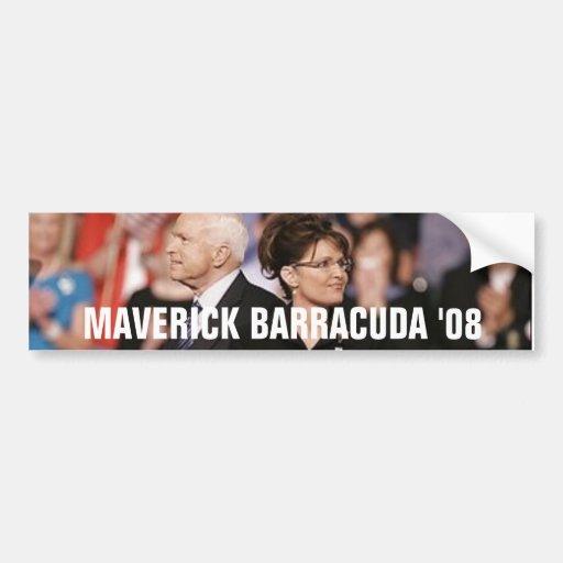 MAVERICK BARRACUDA '08 BUMPER STICKERS