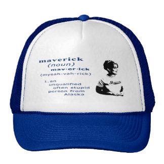 Maverick Funny Sarah Palin Retro Style Hat