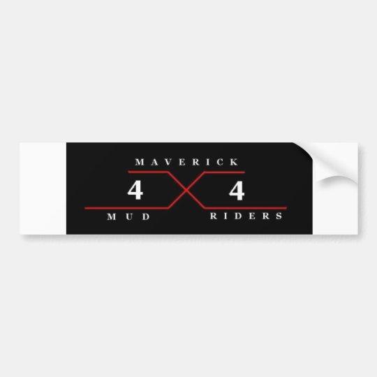 Maverick Mud Riders Bumper Sticker