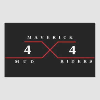 Maverick Mud Riders Stickers