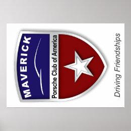 Maverick Region logo poster