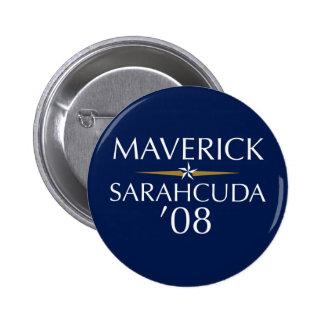 Maverick/Sarahcuda '08 Button