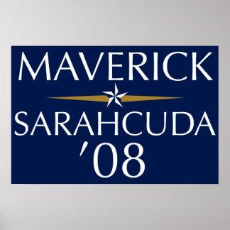 Maverick/Sarahcuda '08 Poster