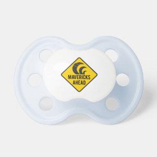 Mavericks Ahead Baby Pacifier