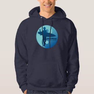 Mavericks -Half Moon Bay (Blue) Hoodie