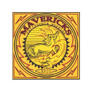 MAVERICKS HALF MOON BAY CALIFORNIA SURFING CANVAS PRINT