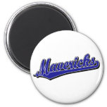 Mavericks in Blue Fridge Magnets