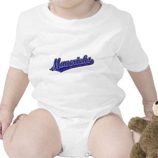 Mavericks in Blue Baby Bodysuits