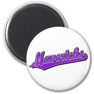 Mavericks in Purple Magnet