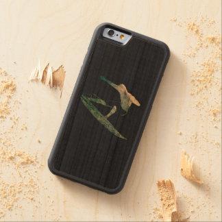 Mavericks - Riding the big One - Surfer Sport Carved Cherry iPhone 6 Bumper Case