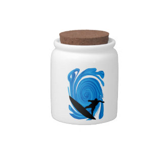 Mavericks Rising Candy Jar