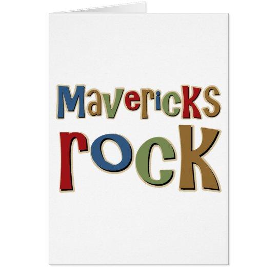 Mavericks Rock Card