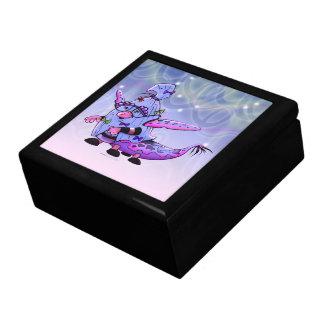MAVILLA ALIEN  Large Square Gift Box Gold MONSTER