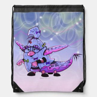 MAVILLA ALIEN MONSTER Drawstring Backpack