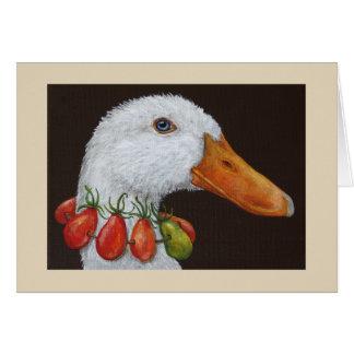 Mavis the duck card