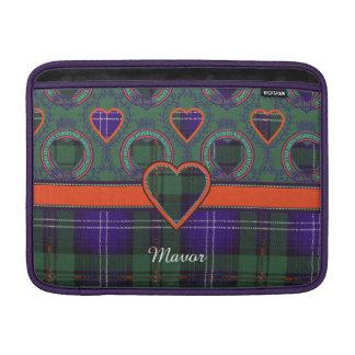 Mavor clan Plaid Scottish kilt tartan MacBook Sleeves