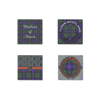 Mavor clan Plaid Scottish kilt tartan Stone Magnet