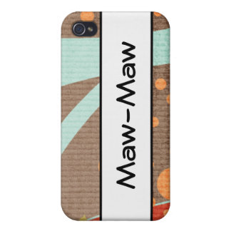 MAW-MAW CELL PHONE CASE