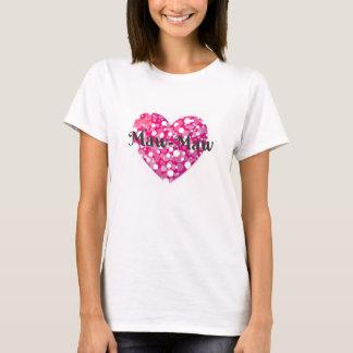 Maw-Maw Heart T-Shirt