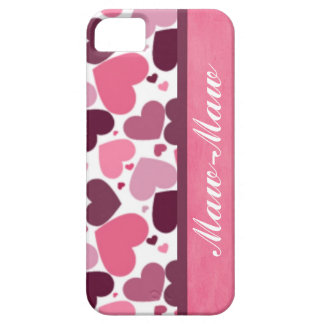 Maw-Maw's Heart iPhone 5 Case