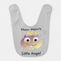 Maw Maws Little Angel Baby Bib
