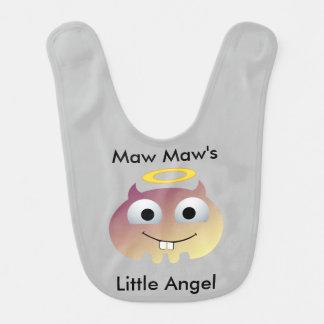 Maw Maws Little Angel Baby Bib