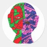 Mawdsley - Meldin J Classic Round Sticker