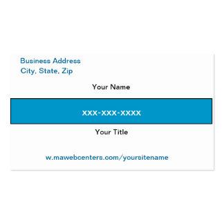Mawebcenter Distributor Sales Business card