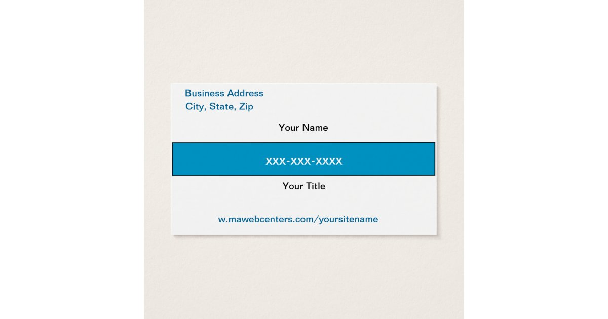 Mawebcenter Distributor Sales Business card | Zazzle.com