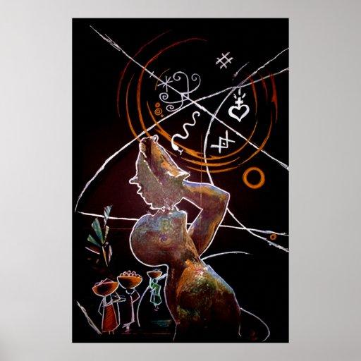 Mawon negativo III Poster