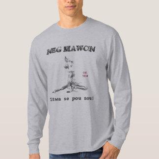 Mawon negativo playera