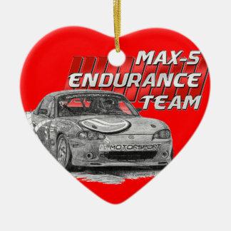 MAX-5 Enduro Team Ceramic Ornament