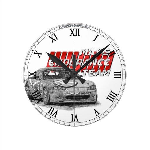 MAX-5 Enduro Team Clock