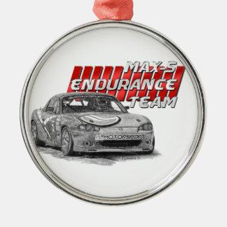MAX-5 Enduro Team Metal Ornament