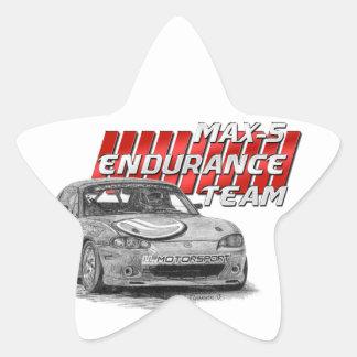 MAX-5 Enduro Team Star Sticker
