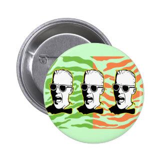 Max 80s pinback button