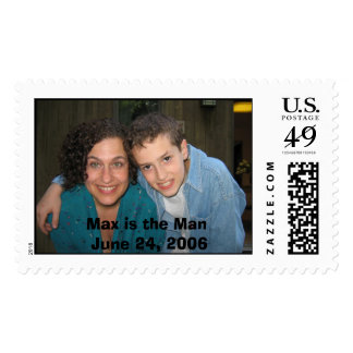 Max and me, Max is the Man June 24, 2006 Stamp