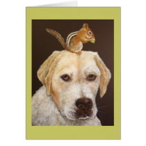 Max and Mr. Chipmunk card
