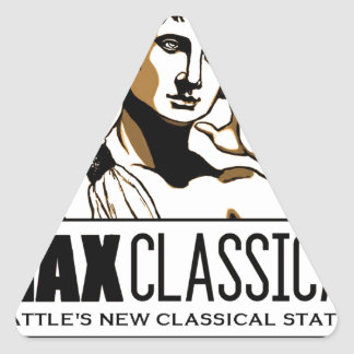 Max Classical logo bag Triangle Sticker