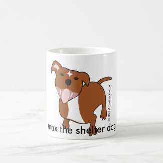Max | Floppy Ears 11 oz Classic White Mug