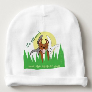 Max | I'm All Ears Baby Cotton Beanie