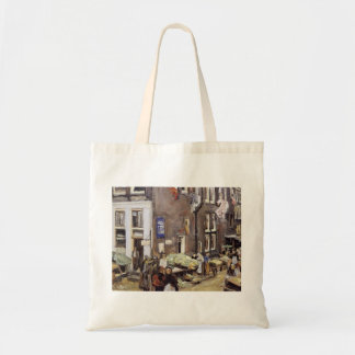 Max Liebermann- Jewish quarter in Amsterdam Canvas Bag