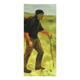 Max Liebermann- The farmer Customized Rack Card