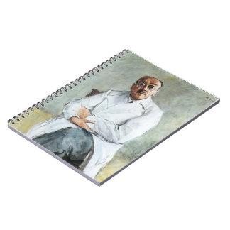 Max Liebermann- The Surgeon, Ferdinand Sauerbruch Spiral Notebooks