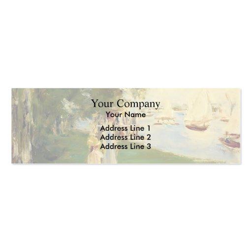 Max Liebermann- The Yacht Race Business Card Templates
