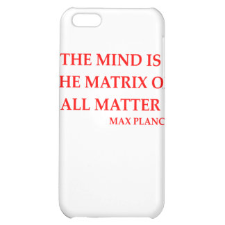 max planck quote cover for iPhone 5C