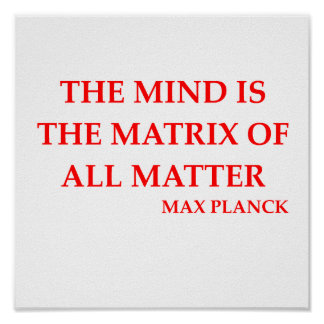 max planck quote poster