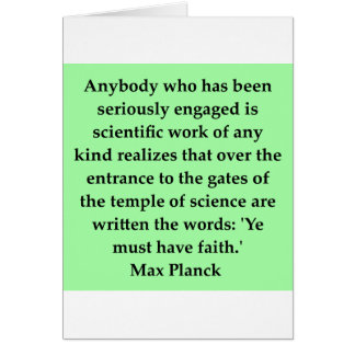 max plank quote card